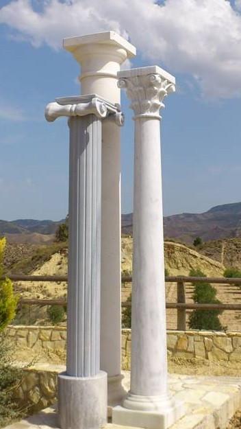 Fabricaci n de columnas de m rmol - Columna de marmol ...