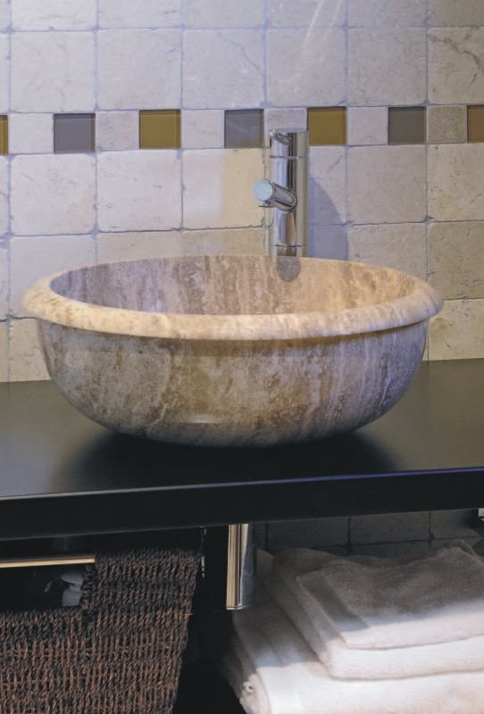 Lavabo travertino